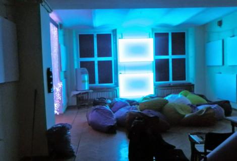 Zamek Moszna – pracownia światła